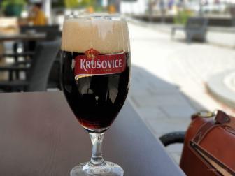 The best: das Krusovice- Bier