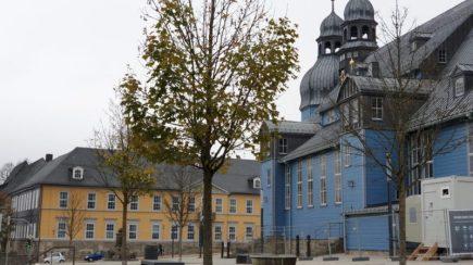Die blaue Kirche in Clausthal