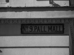 Eine Pall Mall Straße?