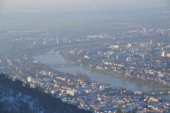 Der Ausblick über Heidelberg ist grandios