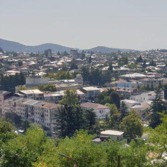 Kutaissi - ein Ausblick über der Stadt