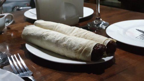 Leckeres Kebab am Abend