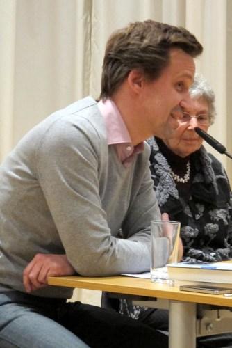 Bilder der Buchpräsentation in Leipzig 2013