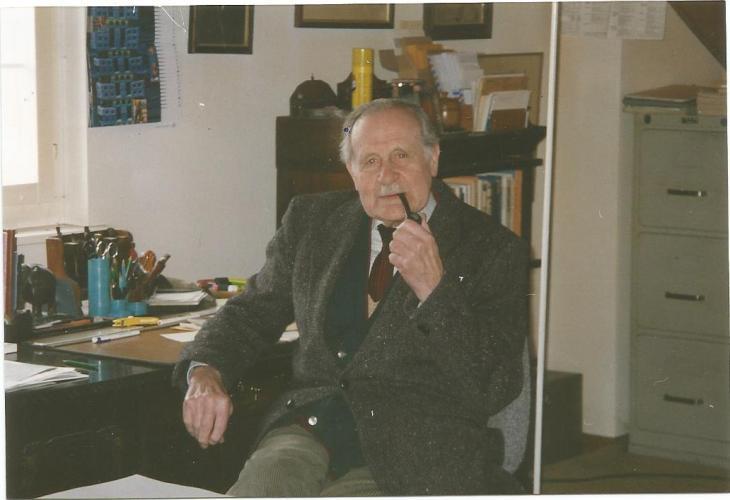 Peter Scheuenstuhl: Zum 100. Geburtstag von Donald A. Prater (1918-2001)