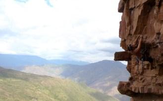 Stefan on Sandstone in South America