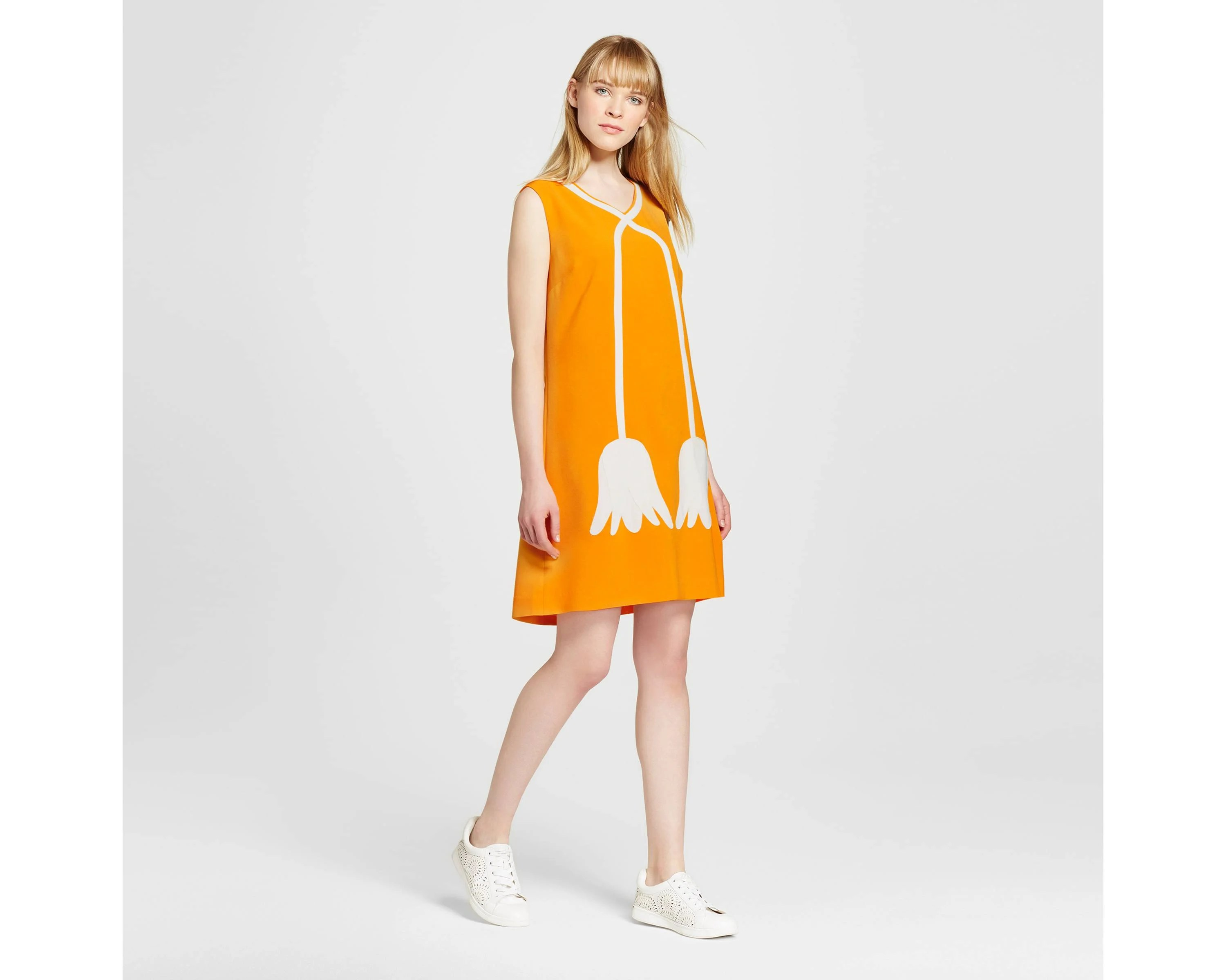Marigold Mod Shift Dress