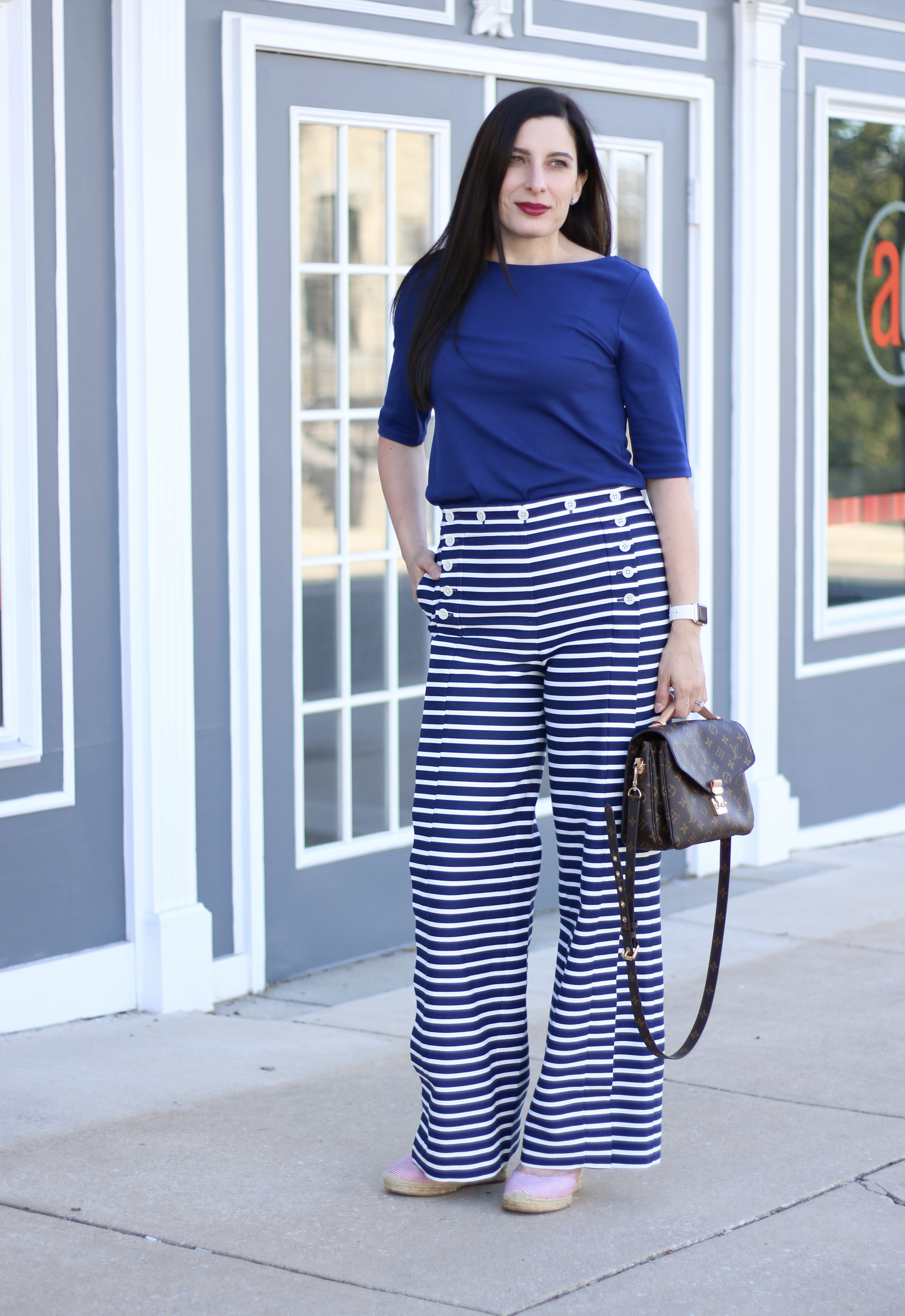 Striped Sailor Pants