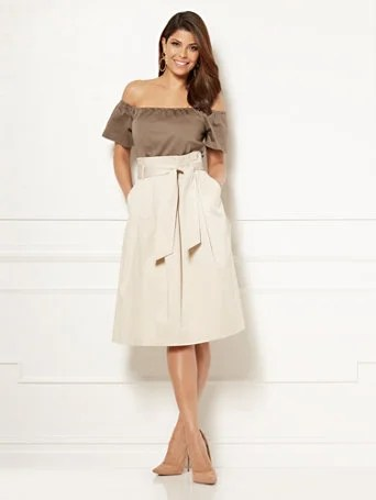 Eva Mendes Collection - Cloe Paperbag-Waist Dress