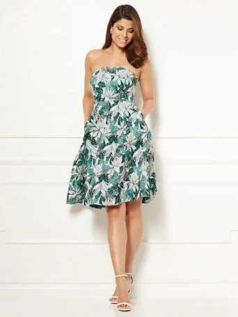 Eva Mendes Collection - Jacquard Del Mar Dress