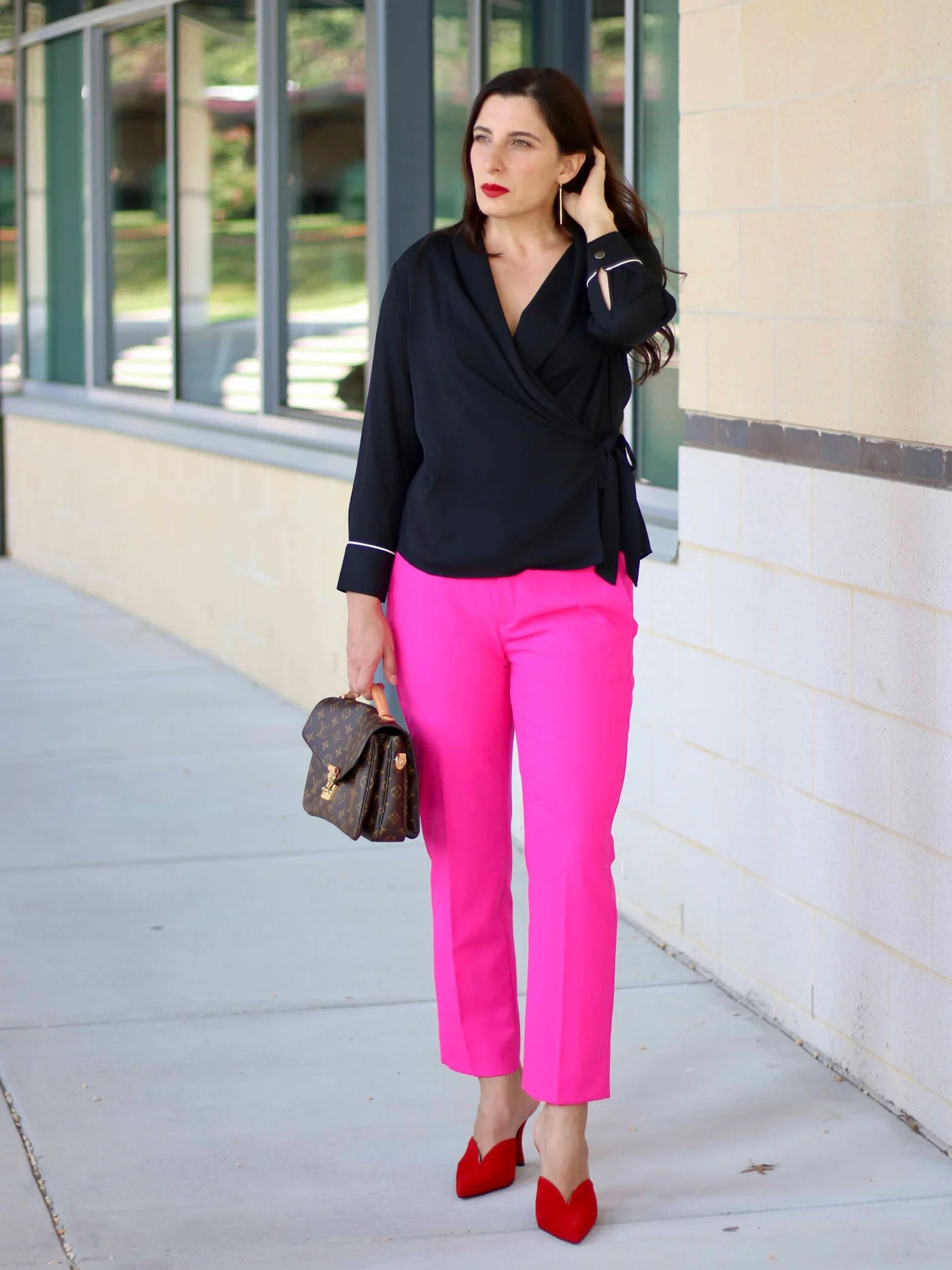 Are hot pink pants something is