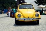 Yellow Volkswagen Beatle