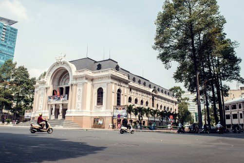 Ho Chi Minh City opera house