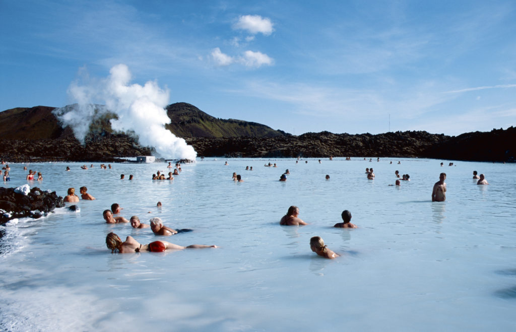 Blue lagoon spa is the most popular spa in Iceland