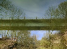 Reflected bridge, 2010