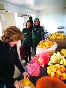 Fresh fruits...