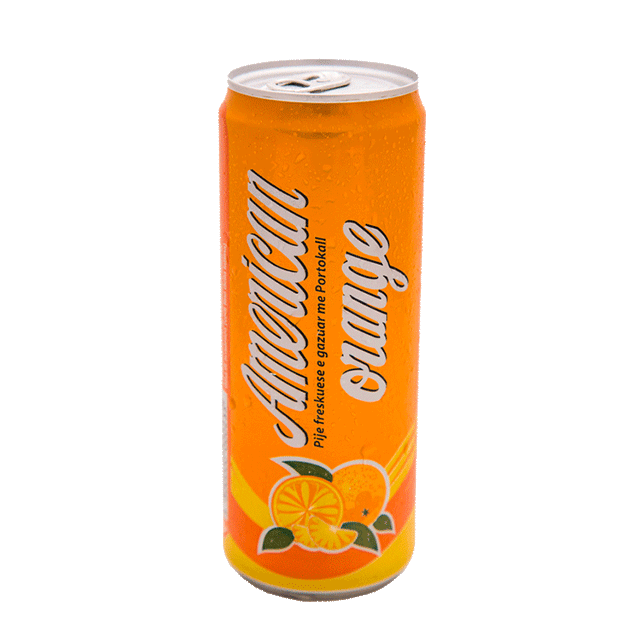 American Orange kanaçe 0.33L