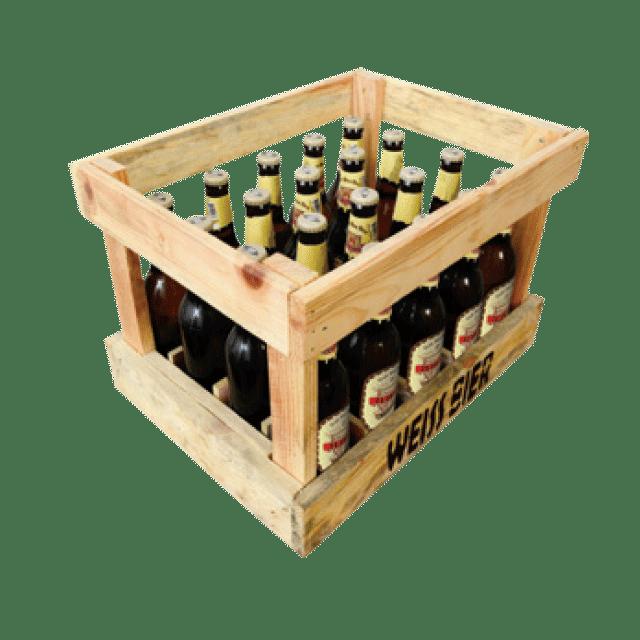 Arkë druri me 20 copë x 0.33L ose 12 copë x 0.5L