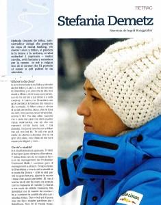 Intervista a Stefania Demetz - Donna Manager Sport