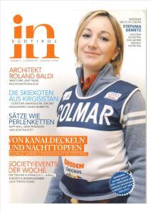 Copertina in-südtirol - Stefania Demetz sport manager