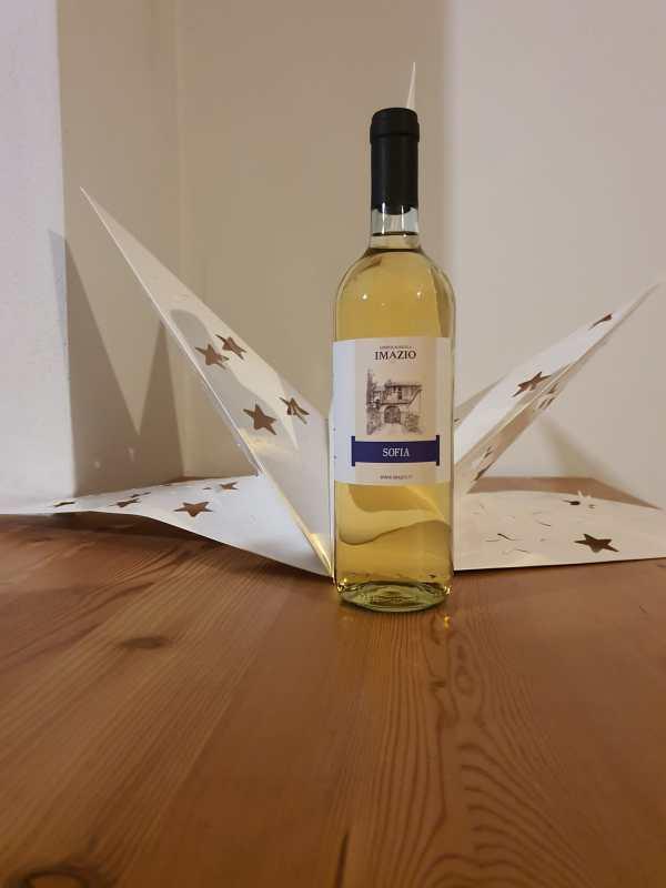 Bottiglia Vino Bianco Sofia Biologico