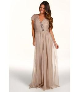 Rochie Bagdley Mischka Embellished Gown
