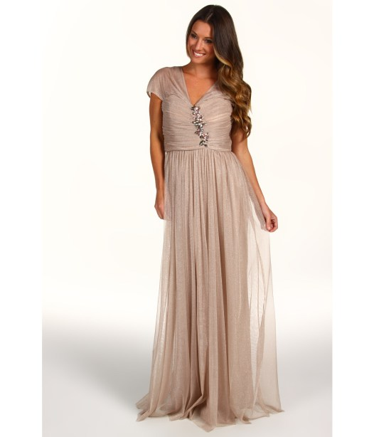 Rochie Bagdley Mischka Embellished Gown