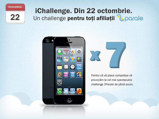 iChallenge in 2 Parale - 22 octombrie 2012