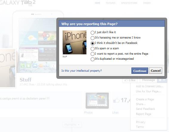 cred ca aceasta pagina nu ar trebui sa fie pe facebook