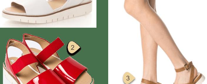 Papuci Sandale Saboti cu talpa groasa – cei mai frumosi in vara 2017