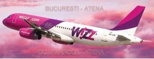 Cu Wizz Air zbori la Atena din Bucuresti si Cluj Napoca din martie pana in octombrie