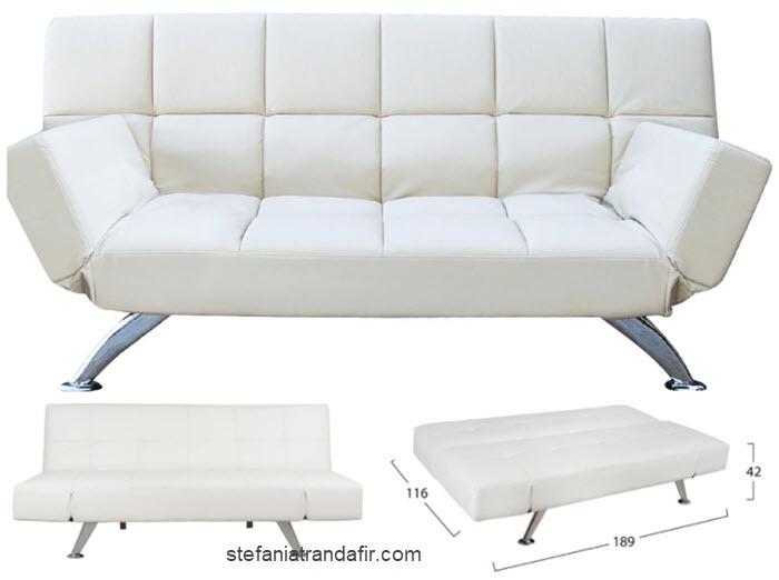 canapea din piele extensibila