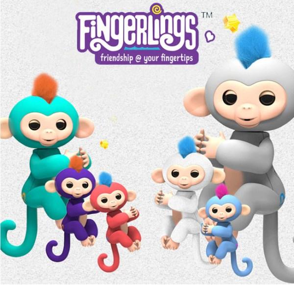 Figurine interactive Maimutelele Fingerlings Baby