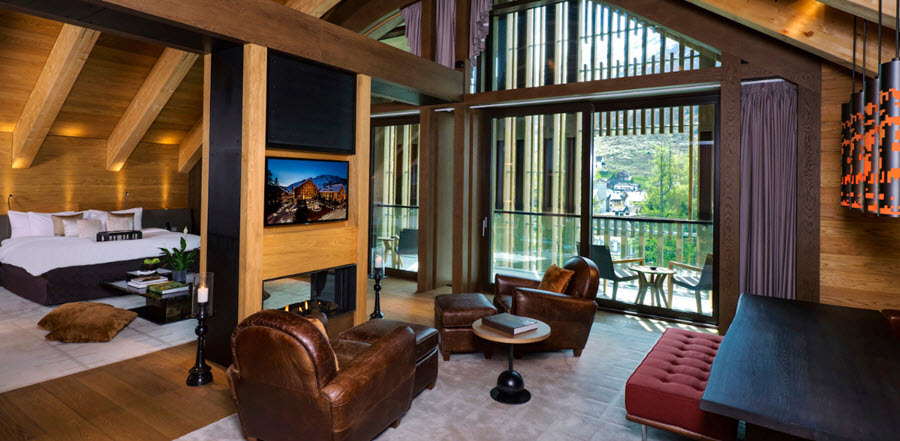Gemsstock Suite Room