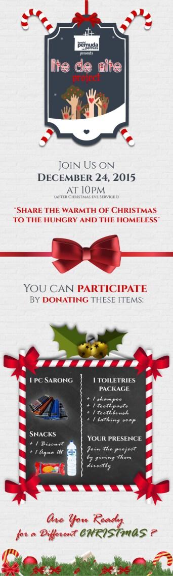 Infographic for KP Pernias Christmas event