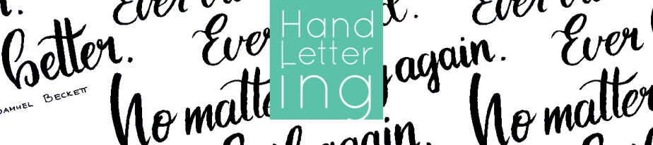 Hand-Lettering: Getting Started with Brush Lettering