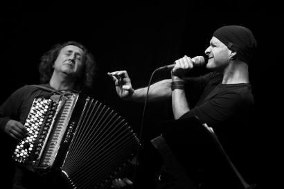 Andreas Schaerer / Luciano Biondini - Jazzahead 2017