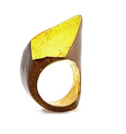 On The Flip Side Rosewood Ring