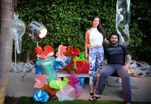 Husband and wife designers Aaron R Thomas and Stefanie Phan feature a LuciteLux wonderland at GlobalShop 2015