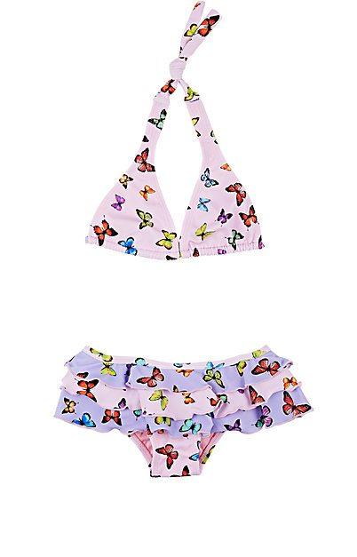 Submarine Butterfly-Print Bikini