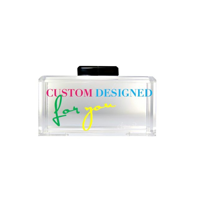 Create your own personalized bespoke clutch