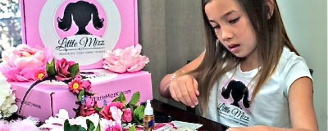 Each month a new box of activities for girls is delivered to inspire and develop confident and creative young ladies. Click to subscribe to Little Mizz Kit.