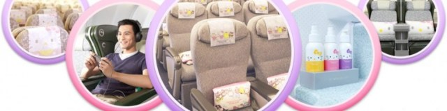Since 2011, EVA and Sanrio have introduced five Hello Kitty-themed Airbus 330 aircraft that all currently service shorter-range flights within Asia.