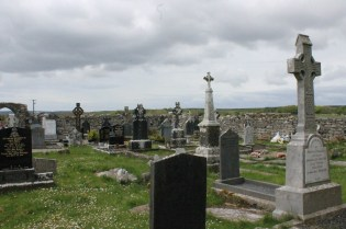A graveyard in Connemara
