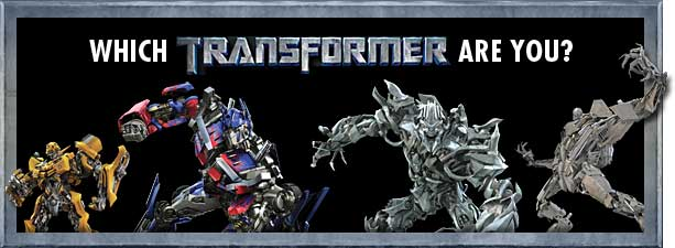 which transformer are you?