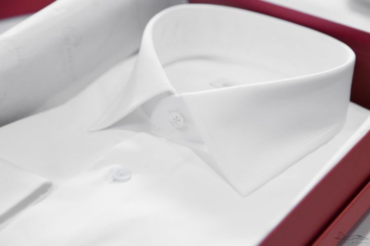 La camicia Stefano Battistini su misura