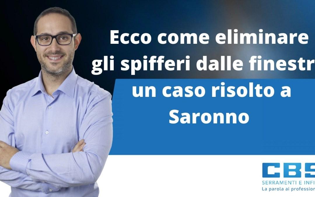 Ecco come eliminare gli spifferi dalle finestre: un caso risolto a Saronno