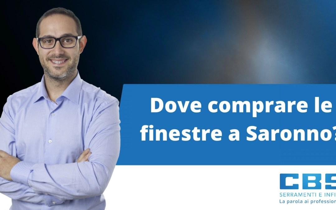 Dove comprare finestre a Saronno?
