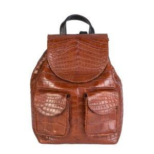 Croc Backpack Brown
