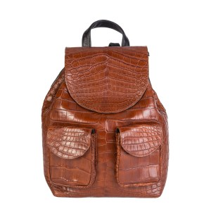 Croc Backpack Brown