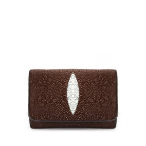 Stingray Wallet Brown